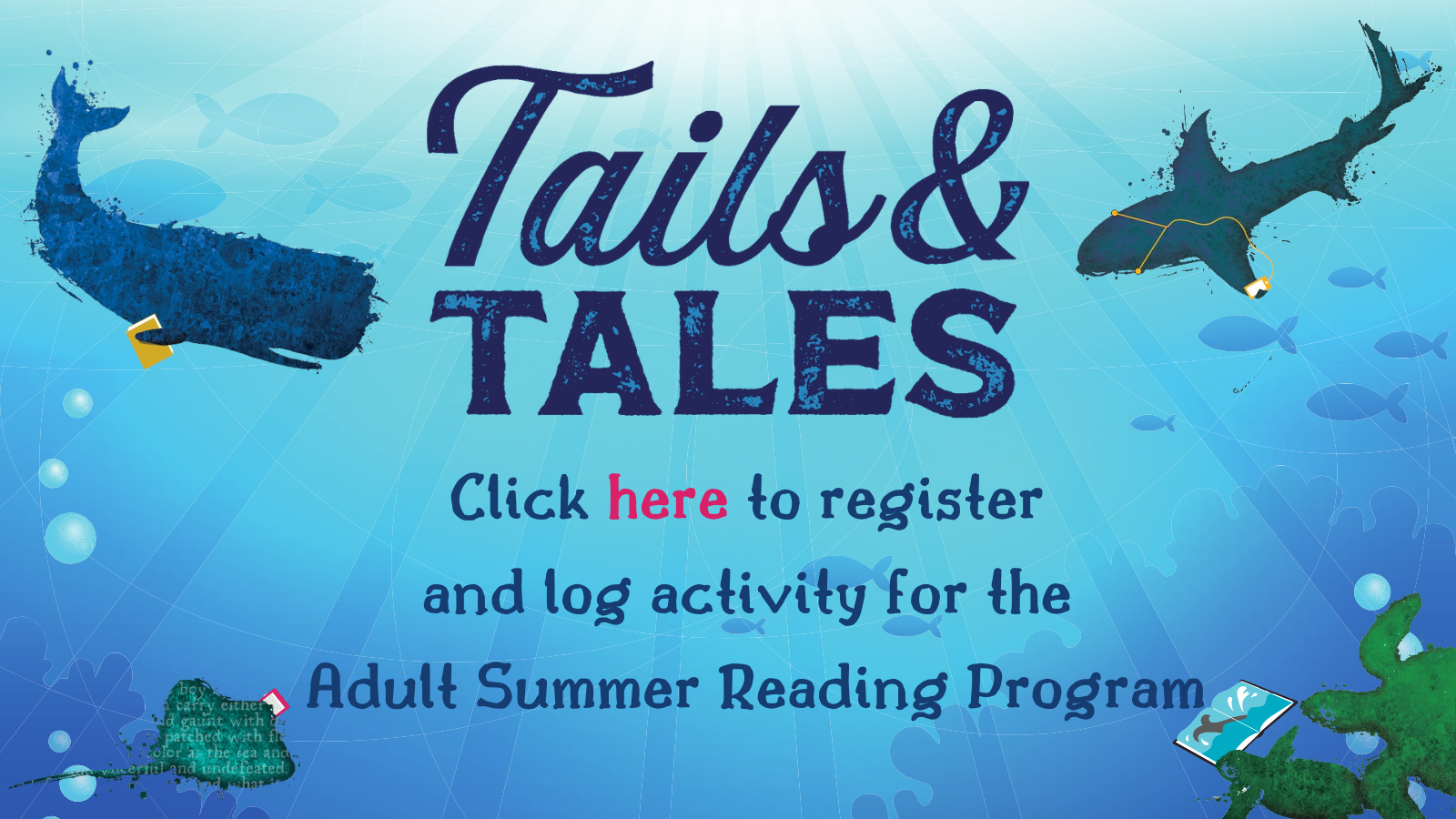 Summer Reading Banner to Beanstack