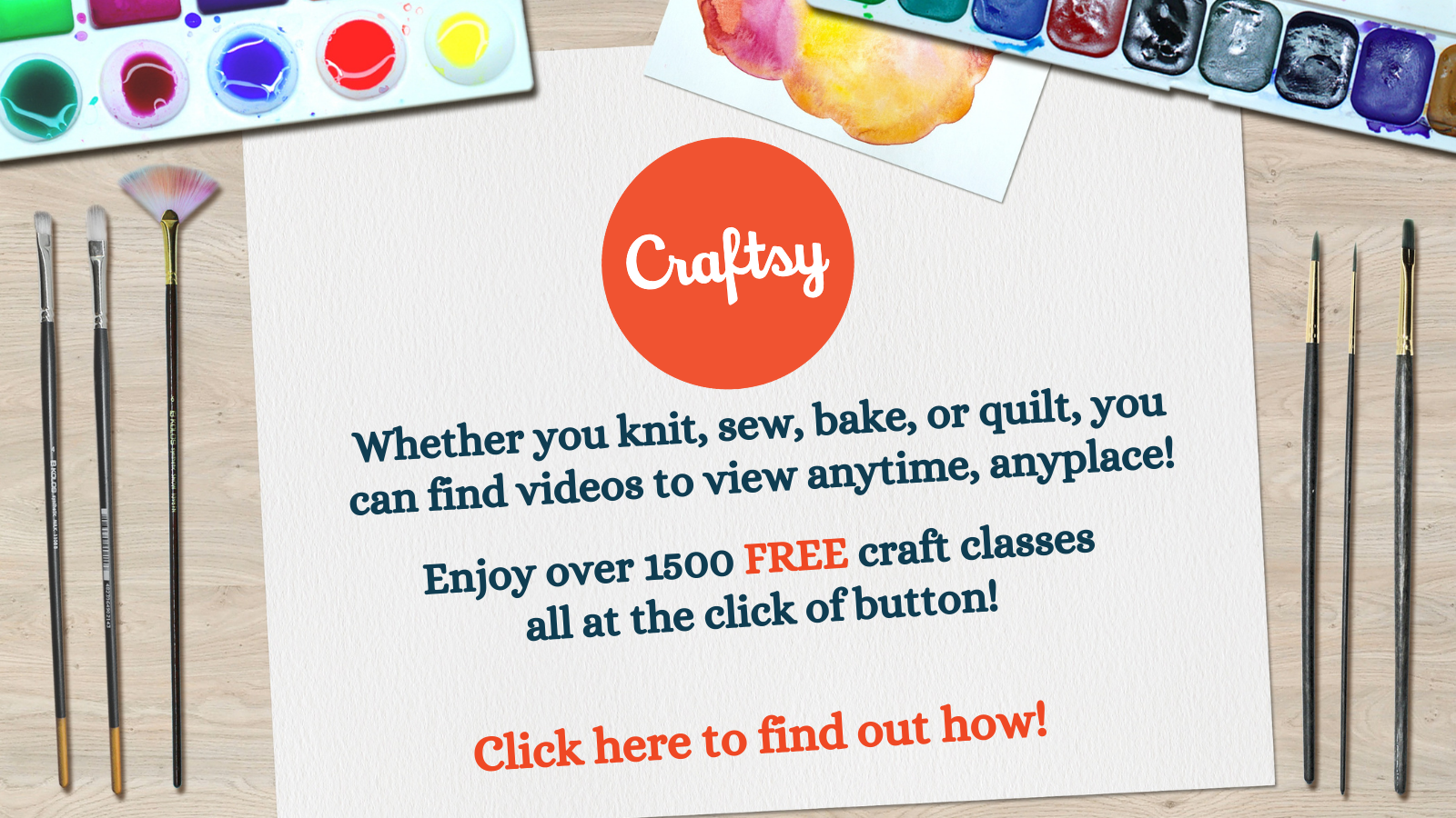 Craftsy--Now on Libby!