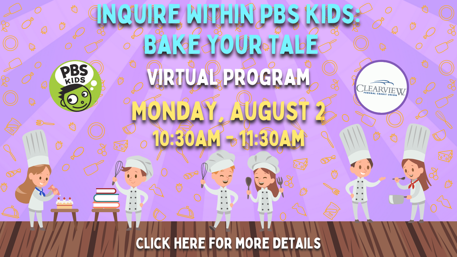 Inquire Within PBS Kids Bake Your Tale