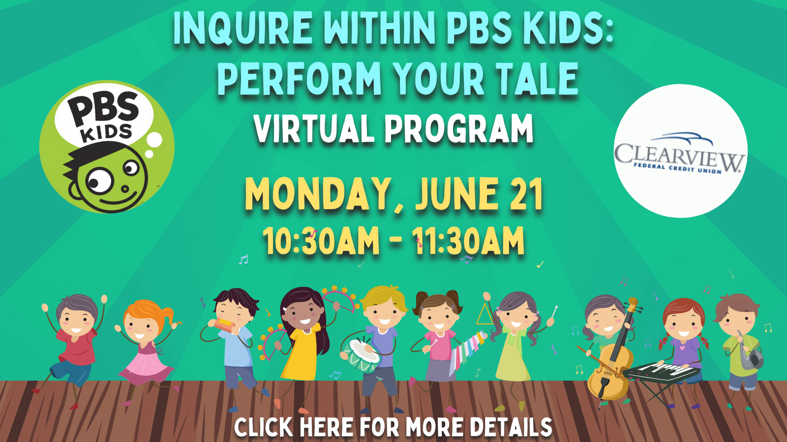 Inquire Within PBS Kids Perform Your Tale