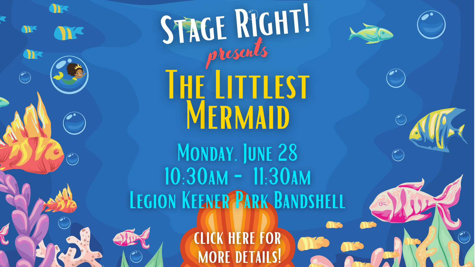 Stage Right The Littlest Mermaid